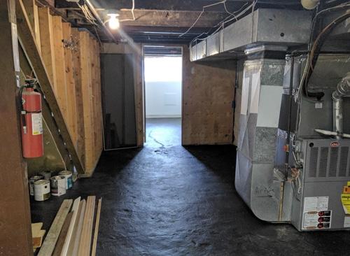 basement to bedroom